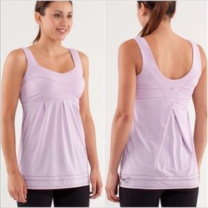 Lululemon Run: Tame Me Tank Rose Quartz 6
